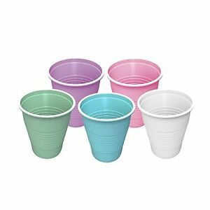 4000 Patient Dental Medical 5oz Plastic Drinking Cups Disposable 148ml Free Ship