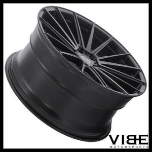 20 Sporza Pentagon Black Concave Wheels Rims Fits Lexus Ls430