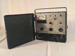 Vintage Sencore Cr128a Cathode Ray Tube Tester Restorer