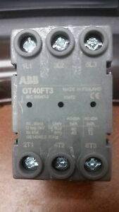 Abb Switch Disconnector Ot40ft3 Isca104940r1001
