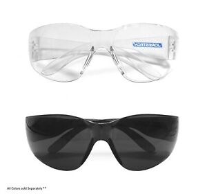 12 144 Pair Jorestech Clear smoke Uv Lens Lot Safety Glasses Bulk New