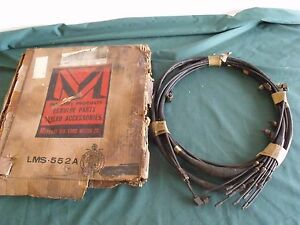 Nos 1955 1956 Mercury Multi Luber Oil Line Harness Oem Fomoco 55 56
