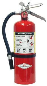New 2018 Amerex Fire Extinguisher Certified With Wall Mount Sign 3a 40bc Rated