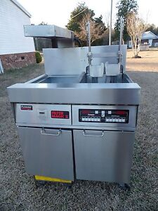 Frymaster Computer Magic Electric Fryer Model Fmh117blcsd 480v 3ph Xtra Clean