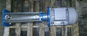 Calpeda 10 Hp High Pressure Boiler Pump Mxv 40 811 60