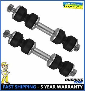Front Sway Bar End Link Kit Pair Buick Cadillac Chevy Dodge Ford Jeep Mercury