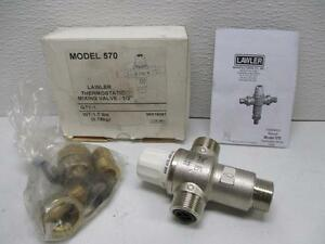 Lawler Thermostatic Mixing Valve 1 2 Model 570 Mix16051 Lab 286 New