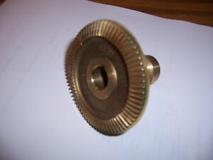 Bevel Bronze Gear W Seal For Servo Power Feeds On Ex cell o Mills new