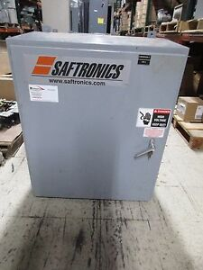 Saftronics Enclosed Soft Start 2031201 200hp Output 0 460v 0 240a Used