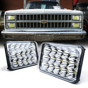 Xprite Pair Of 45w H4 Cree Led Headlights High low Beam For Chevrolet Ford Buick