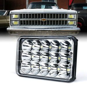 Xprite 45w Led Headlight High Low Beam Spot Light Work Lamp For Suv Jeep Truck