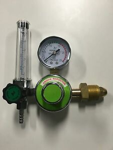 Brand New Argon Co2 Regulator Flow Meter Gauge For Tig Mig Welding Cga 580