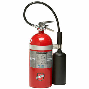 New 2018 Buckeye 10 lb C02 Fire Extinguisher Certified With Wall Mount
