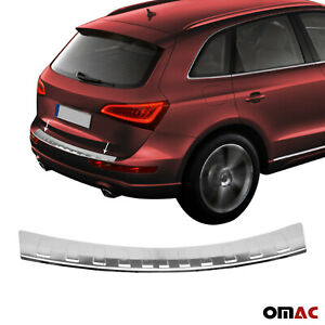 Fits Audi Q5 2009 2017 Chrome Rear Bumper Guard Trunk Sill Protector S steel