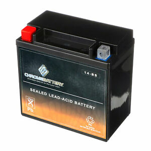 Rechargeable Ytx14 bs High Performance Power Sports Battery Replaces Gyz16h