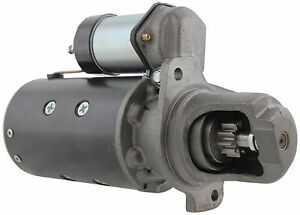 New Usa Built Starter For Case 580 Diesel 67 72 10 Tooth Sealed 1109143 104198a2
