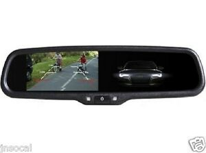 4 3 Rearview Mirror Monitor 2 Video For Selected Ford Nissan Toyota Honda Mazda