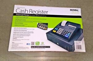 Royal Electronic Cash Register With Thermal Printer 210dx