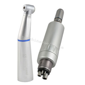 Sale Inner Water Dental Low Speed Handpiece Contra Angle Air Motor 4hole Fit Nsk