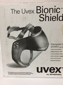 Uvex Bionic Face Shield Protection Safety Tool Business Office Airborne Sperian