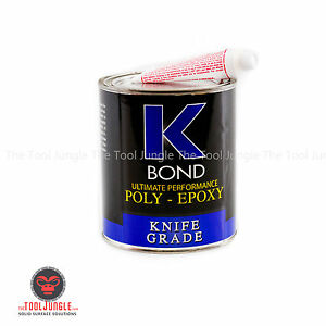 K Bond 1 Quart Solid Transparent Poly Epoxy Glue For Granite Stone Marble