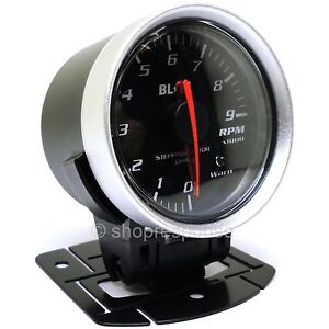 Blitz Racing Meter Sd Tachometer Gauge Black 52mm 2 Diameter 19576 Genuine
