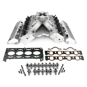 Ford 351c 9 2 Deck Fusion Manifold Hyd Ft Cylinder Head Top End Engine Combo Kit