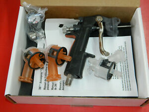 New 3m Accuspray 16577 Spray Gun Hg14 1 4mm 1 Gun 3 Atomizing Heads