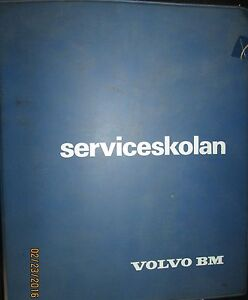 Volvo Bm Tractors T430 T650 T800 T810 T814 Product Information Book 1972 74