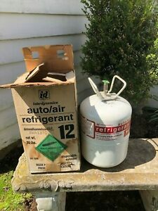 21lb Partial Cylinder National 134a Refrigerant must Have License To Purchase
