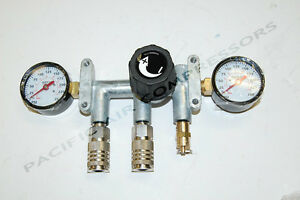 17793 Rigid Manifold Assembly W Couplers And Gauges