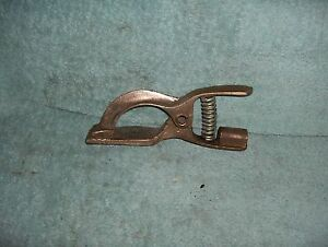 Arc Welding Brass Ground Clamp 600a 1 1 2ln