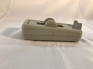 Vintage Cellophane Scotch Tape Desktop Dispenser Rubbermaid 2138