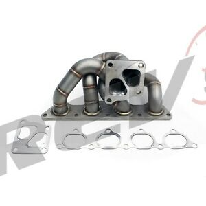Rev9 Hp Series 01 07 Evo 7 8 9 4g63 Ct9a Equal Length Turbo Manifold Stainless