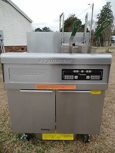 Frymaster Electric Fryer Model Fmre114blsc 480v 3ph Xtra Clean Filter N Lifts