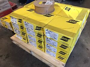 Esab Welding Wire Mig 6 33 Each 44 Spools New Surplus 1632c27