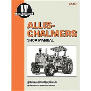 I t Shop Manual For Allis Chalmers D19 D21 180 185 190 190xt 200s 210 220