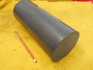 Gray Pvc Rod Machinable Plastic Round Bar Stock 4 1 2 Od X 11 Oal