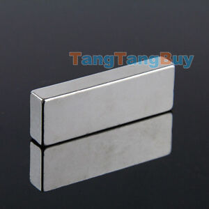 5pcs Super Strong Neodymium Block Strip Magnets 60 X 20 X 10 Mm Rare Earth N35