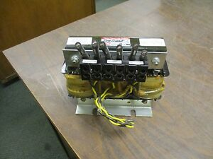 Tci Sine Guard 3 phase Line Reactor Klr55btb 55a 600v Used