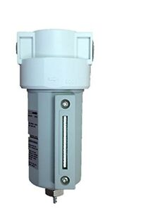 1 2 Compressed Air In Line Moisture water Filter Trap Manual Drain New