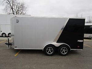 2019 Bravo 7x14 Scout Enclosed Motorcycle Trailer