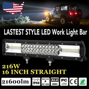 2pcs 4inch 18w Flood Led Light Square Led Work Light Bar Wiring Harness 12v 24v