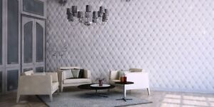 retro 3d Decorative Wall Panels 1 Pcs Abs Plastic Mold For Plaster