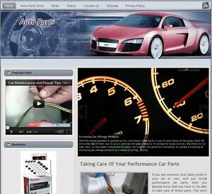 auto Parts Turnkey Website For Sale turnkeypages