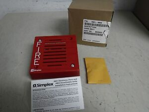 New Simplex 4901 9822 Horn Audible Signaling Appliance For Fire Alarm Service