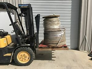 1 1 4 Cable Pulling Rope bigger Roll Only Approximately 1200 Ft