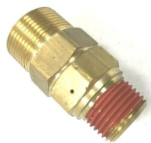 Air Compressor Unloader Check Valve 3 4 X 3 4 Mpt Brass