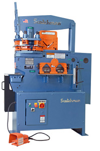 Scotchman 5014 et 50 Ton Ironworker Made In Usa
