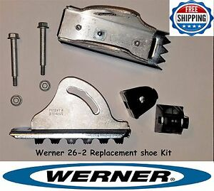 Werner 26 2 Replacement Shoe Feet Kit Aluminum Extension Ladder Parts